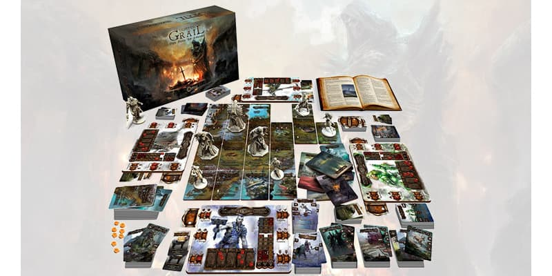 Tainted Grail The Fall of Avalon Survival Board Game