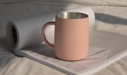 Ag+CUP Handmade Silver Cup