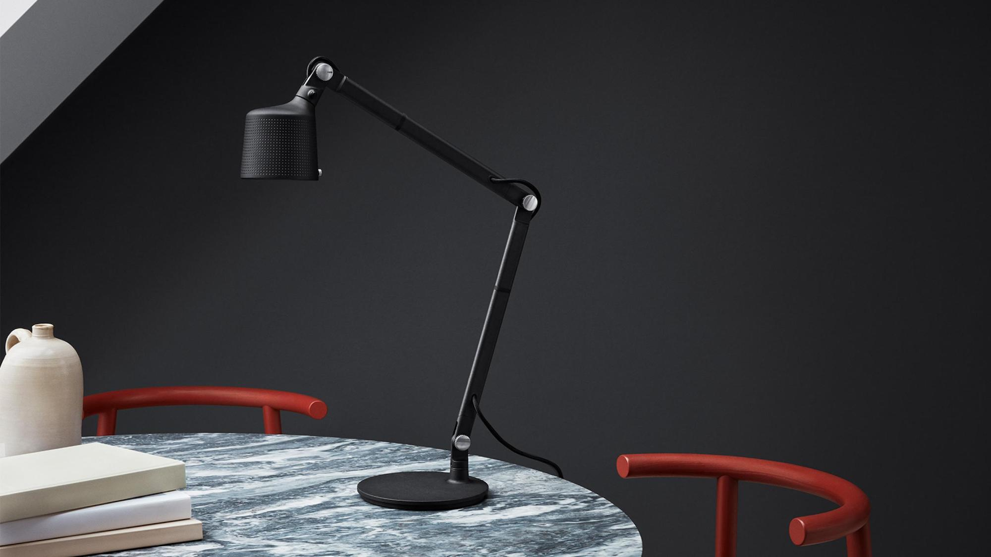 Vipp Desk Lamp Work Light adjusts to just the right position