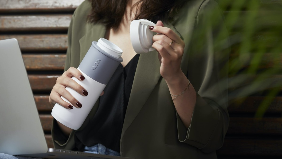 WOKY Bottle Leakproof Ceramic Thermos won't leave a nasty metallic taste