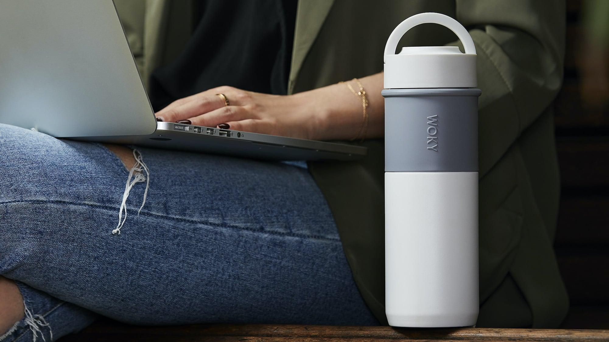 WOKY Bottle Leakproof Ceramic Thermos won't leave a nasty metallic taste