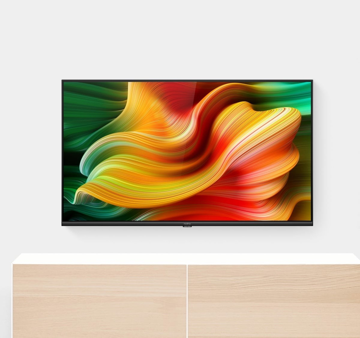 realme Smart TV Android Television offers a beautifully bright LED display