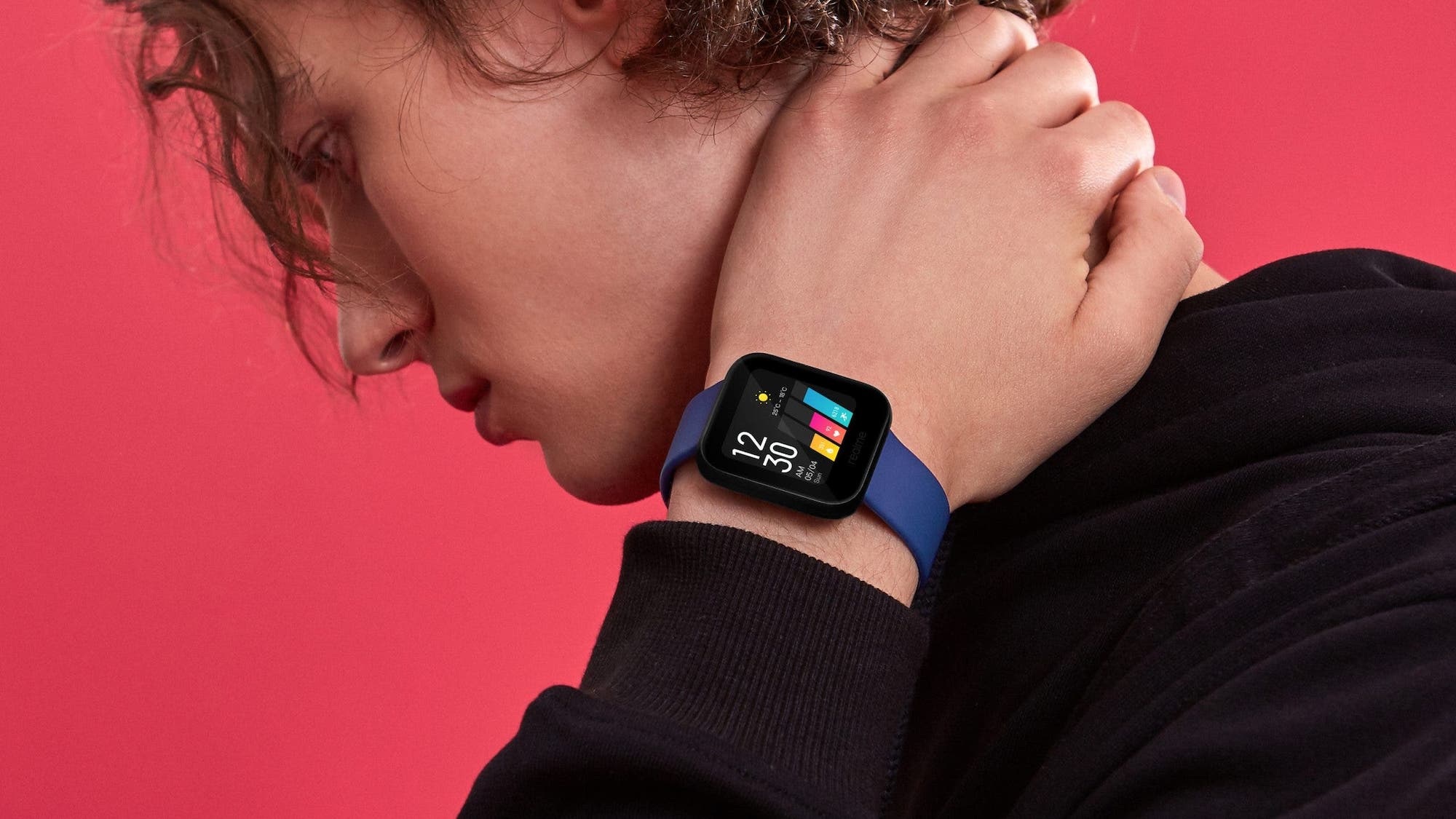 realme Watch Colored Touchscreen Smartwatch
