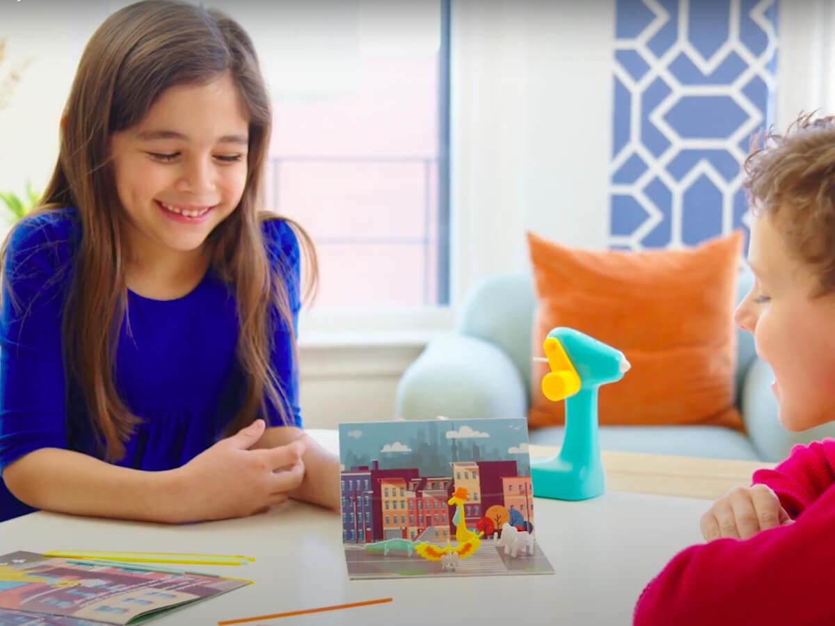 3Doodler 3D Build & Play Character Molder keeps children entertained