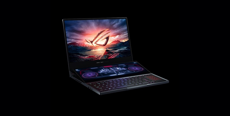 ASUS ROG Zephyrus Duo 15 Secondary Display Laptop
