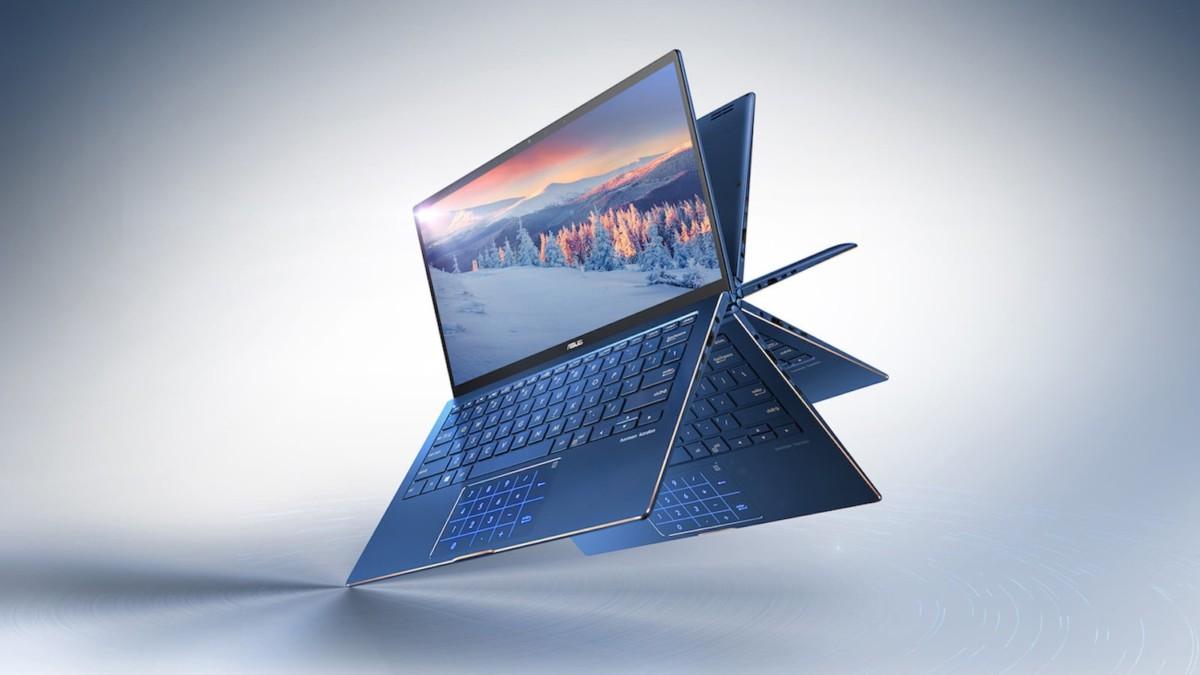 ASUS ZenBook Flip 13 UX363 Versatile Laptop provides flexible performance and mobility