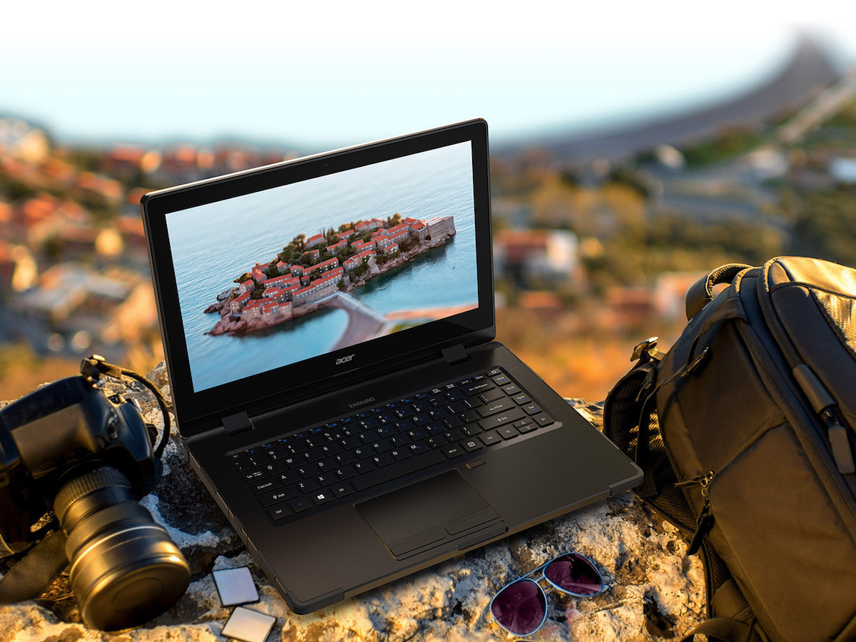 Acer ENDURO N3 IP53-Rated Laptop can repel water without damage