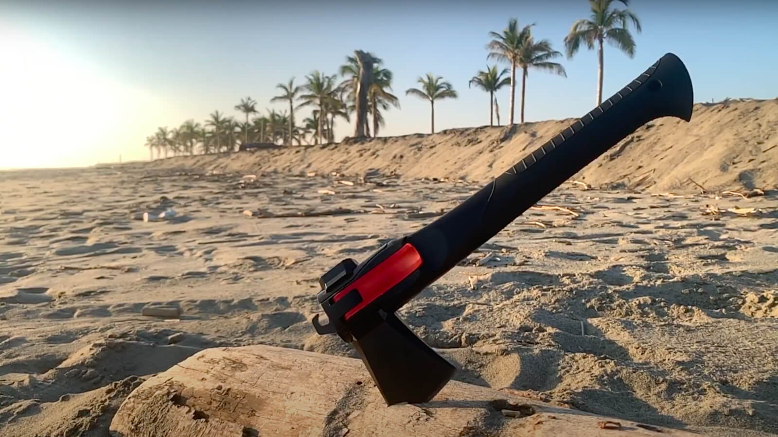 Adventure Mate AM-V2 5-in-1 Camping Tool configures into multiple designs