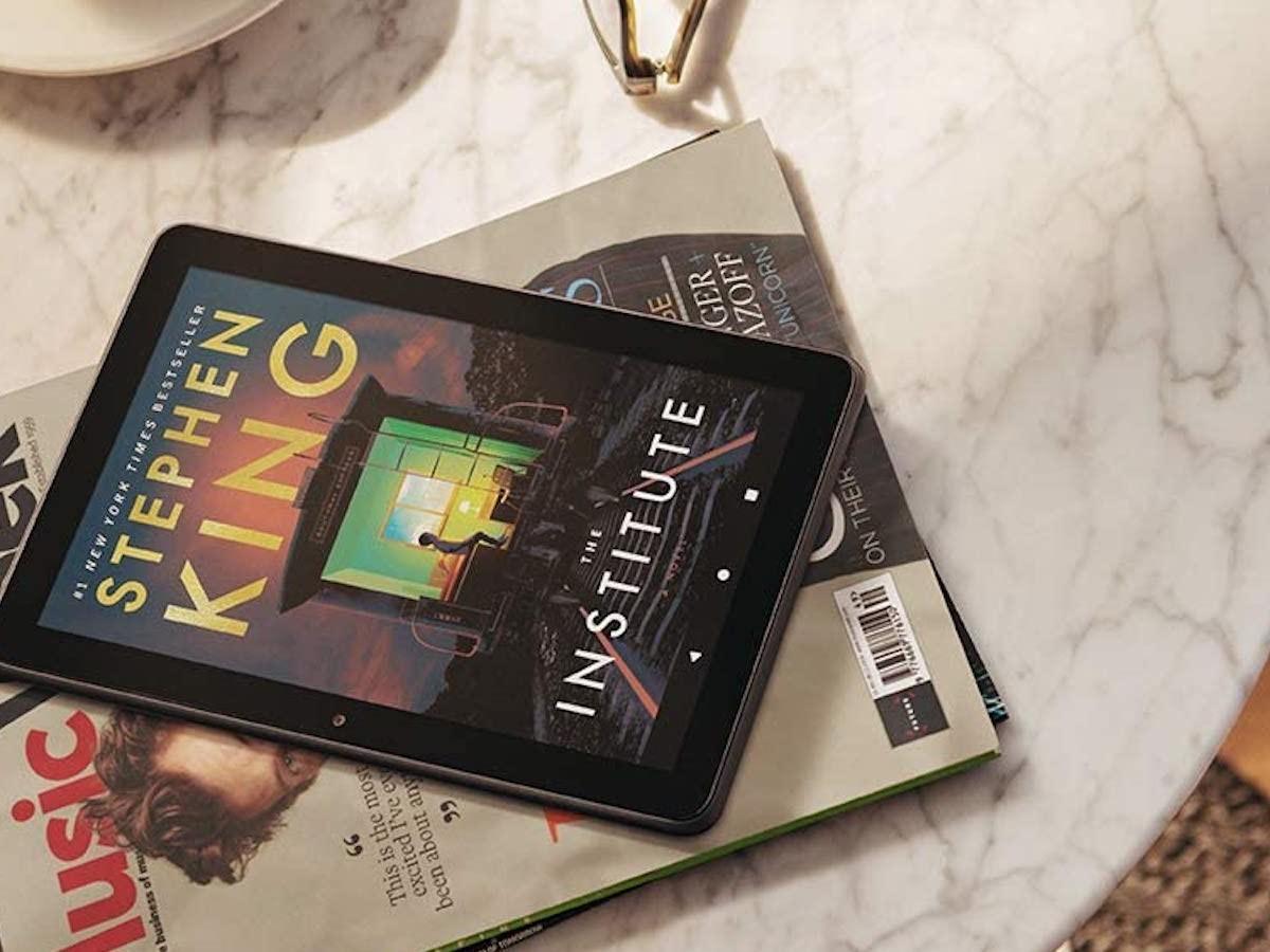 Amazon Fire HD 8 Plus 32 GB Tablet lets you enjoy your favorite apps