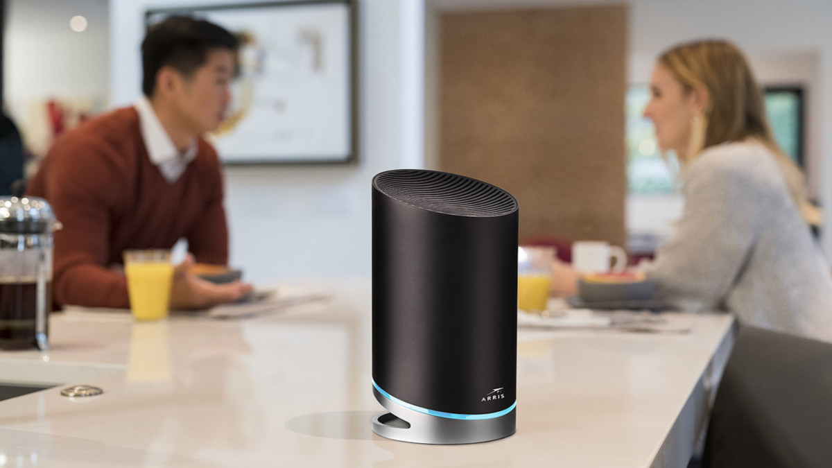 Arris SURFboard mAX Pro Mesh Wi-Fi 6 System Wireless Internet Router increases speed and range