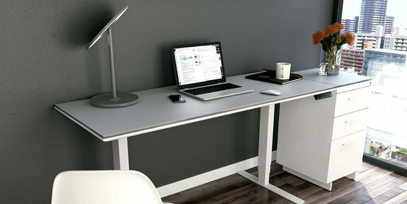 BDI Centro 6451-2 Lift Standing Desk