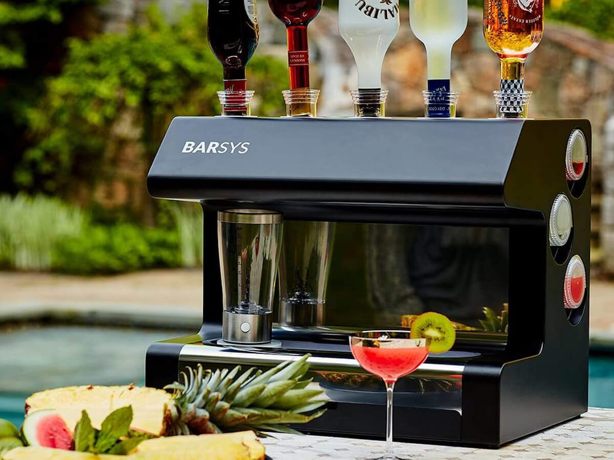 Barsys 2.0+ Home Automated Cocktail Maker is the party must-have gadget