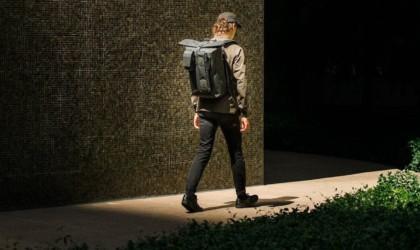 Black Ember WPRT MINIMAL Waterproof Roll Top Backpack