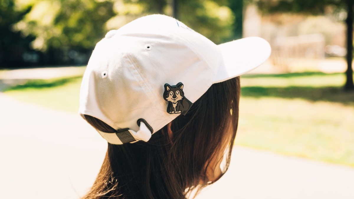 Captions Snap-On Hat Accessories attach in seconds without damaging your cap