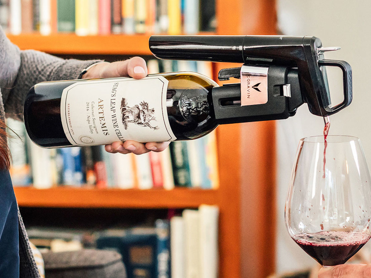 Coravin Model Six wine pourer lets you conveniently pour alcohol thumbnail
