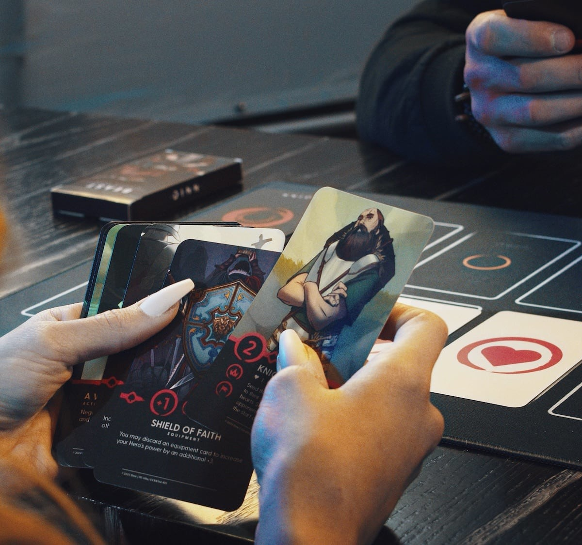 Dinn Trading Card Game offers a reimagined and immersive treasure hunt