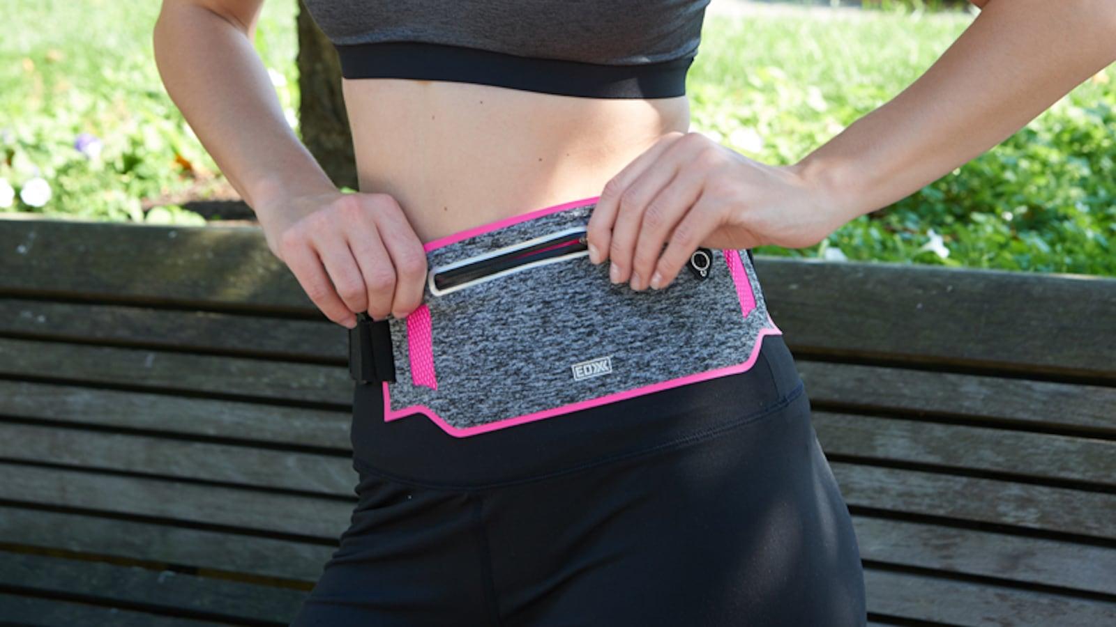 EDX Slim Running Adjustable Waist Pack