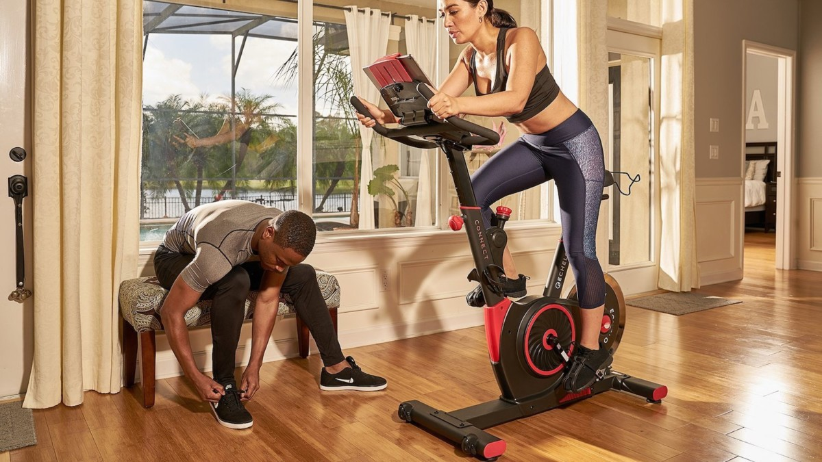 Echelon Smart Connect EX3 Home Exercise Bike gets you fit without leaving the house