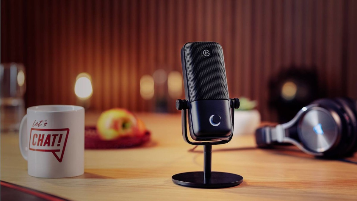Elgato Wave:1 Premium Microphone has a multilayer noise shield