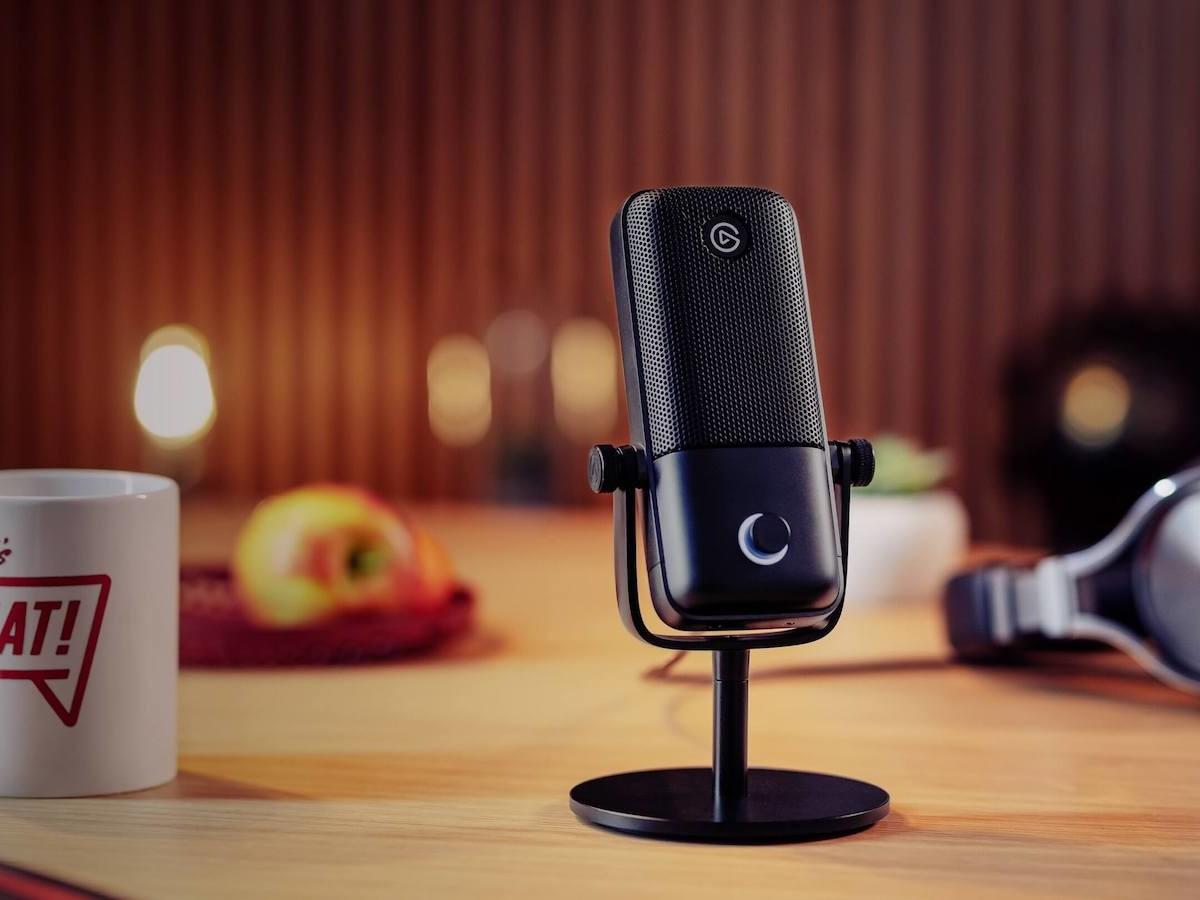 Elgato Wave:1 Premium Microphone has a multilayer noise shield