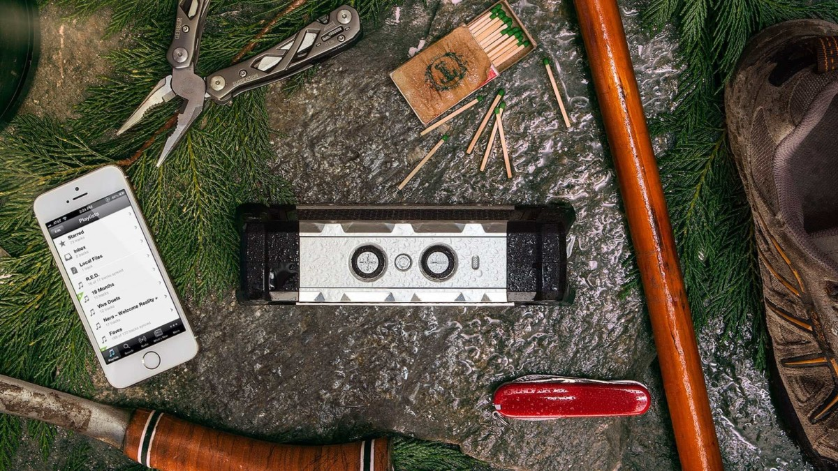 Fugoo Tough Rugged Waterproof Speaker is built to withstand extreme conditions