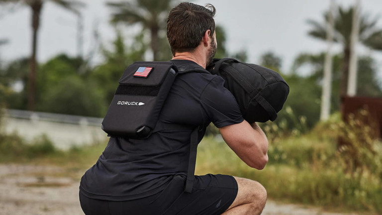 GORUCK Ruck Plate Carrier Fitness Bag adds weight to your workouts