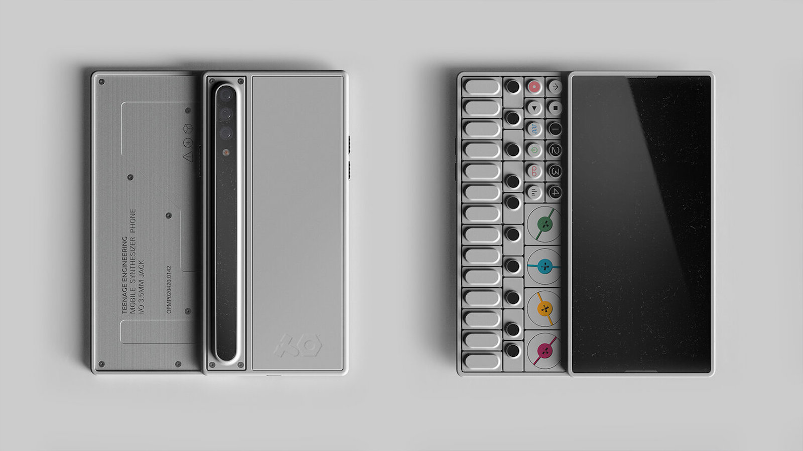 GRIS Design OP-S Conceptual Smartphone features a built-in synthesizer