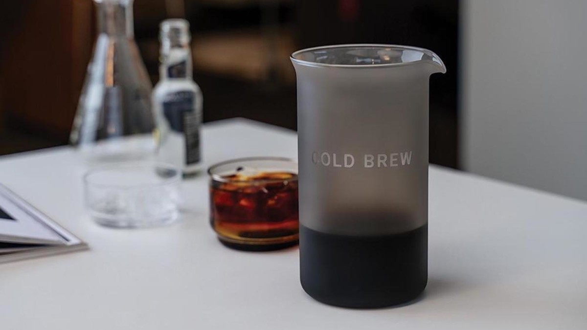 Goat Story Cold Brew Kit Filtered Coffee Maker creates a clean and tasty drink