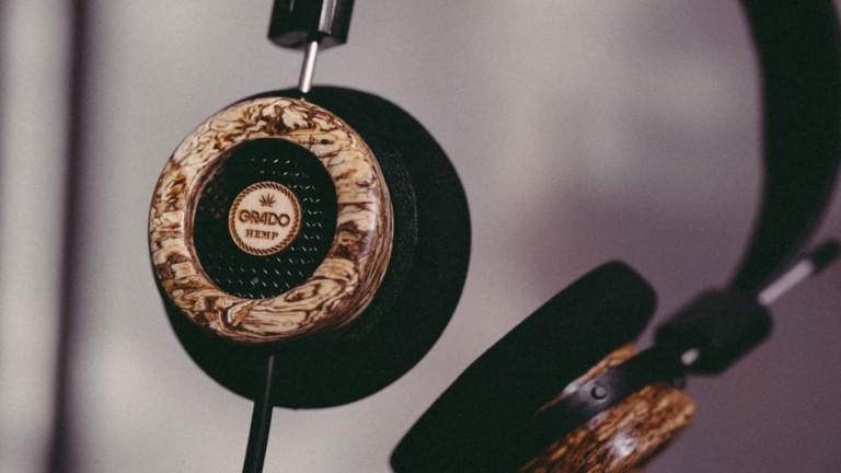 Grado Labs The Hemp Headphone Wooden
