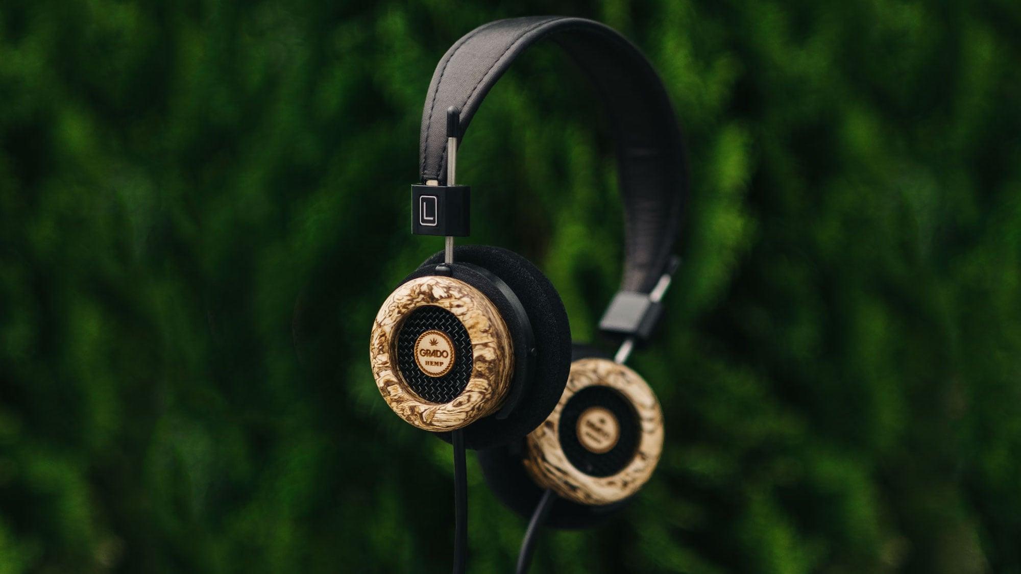 Grado Labs The Hemp Headphone Wooden Earphones