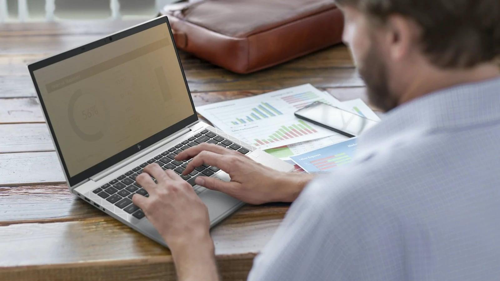 HP EliteBook 805 G7 Series Multitasking Laptops