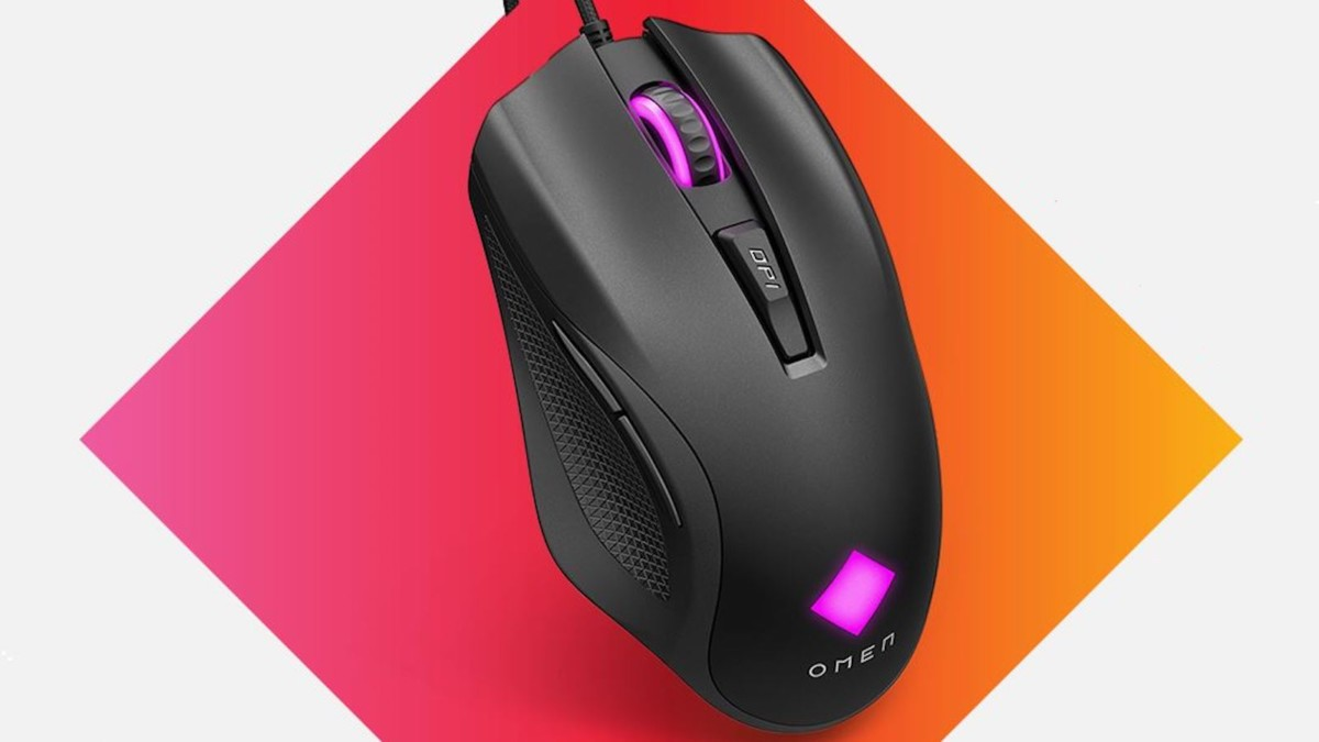 HP Omen Vector and Vector Essential gaming mice weigh only 88 grams