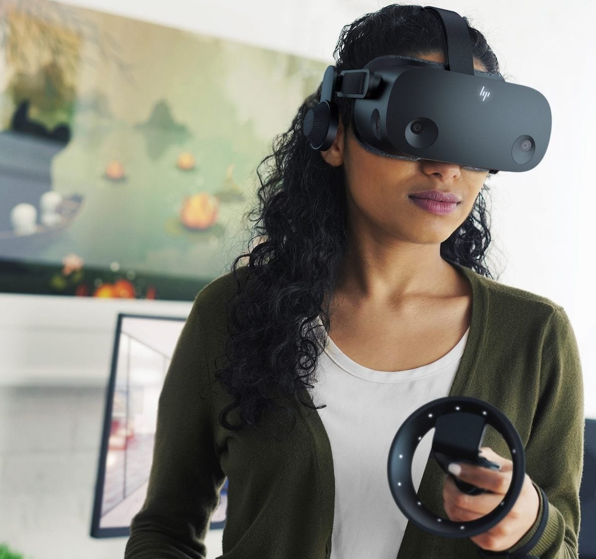 HP Reverb G2 Immersive VR Headset helps you in whatever industry you work