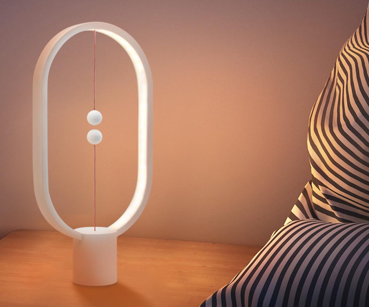 Heng Balance Lamp Wooden Light is an innovative way to light up a room