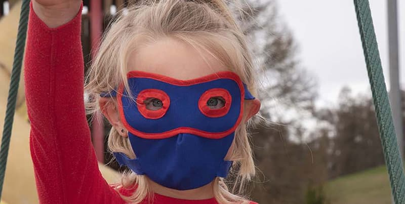 Hero Playful Mask for Children