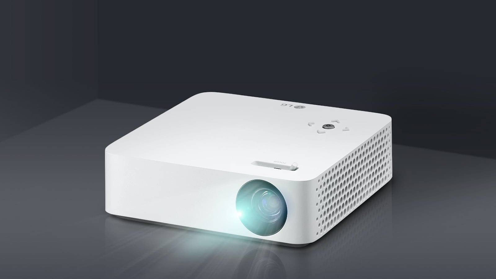 LG CineBeam PH30N LED Projector produces a screen up to 100 inches