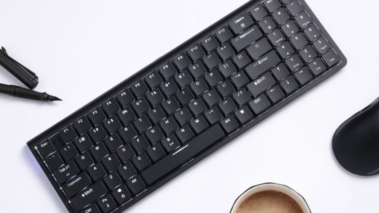 LTC LK-301 Nimbleback Bluetooth Low Profile Switch Keyboard