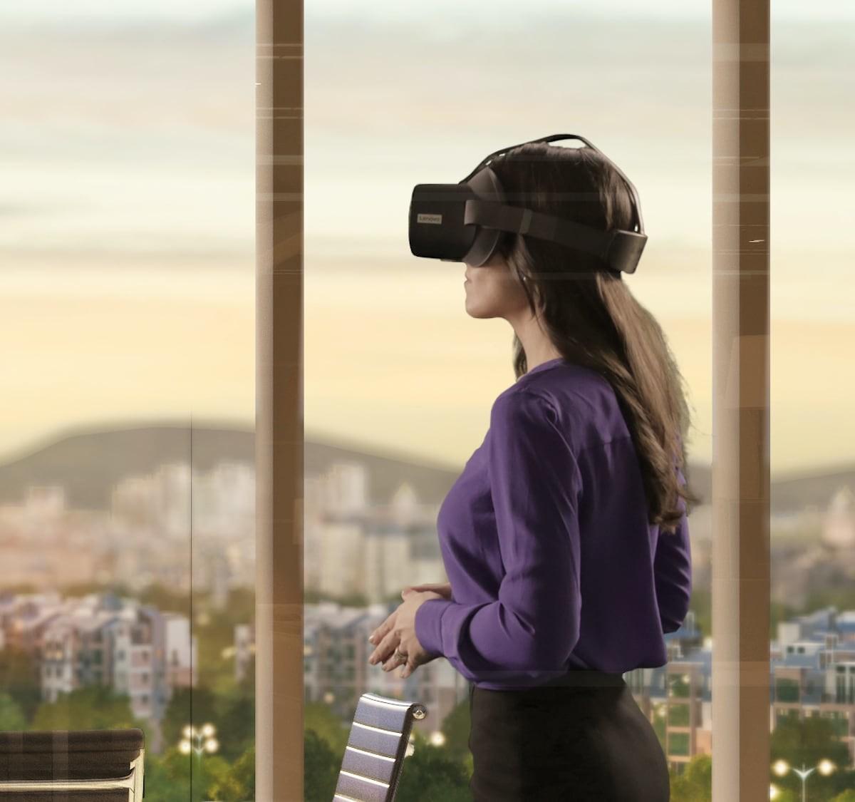 Lenovo Mirage VR S3 Standalone Headset employs ThinkReality for enterprise use