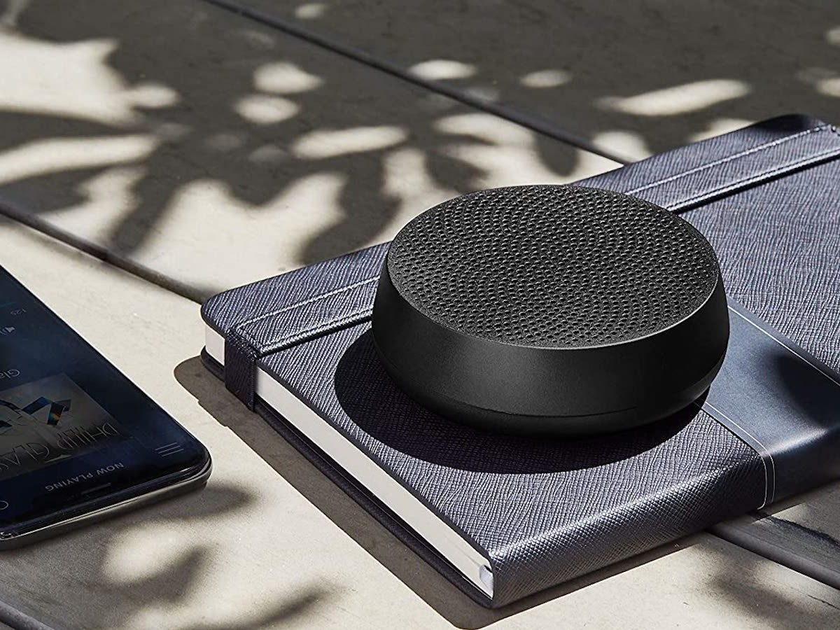 Lexon Mino L pairable Bluetooth speaker fills the interior with high-quality audio