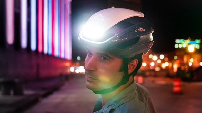 This LED helmet keeps you safer on the road