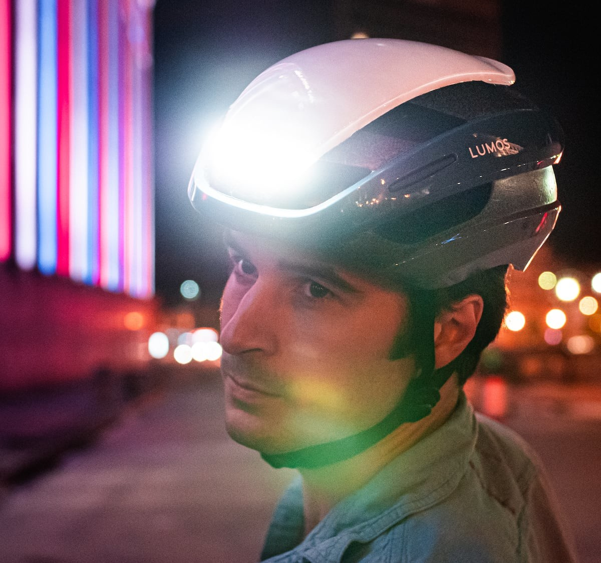 Lumos Ultra LED Bike Helmet has built-in turn signals and more safety features