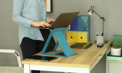 MOFT Z 4-in-1 Invisible Sit-Stand Laptop Desk