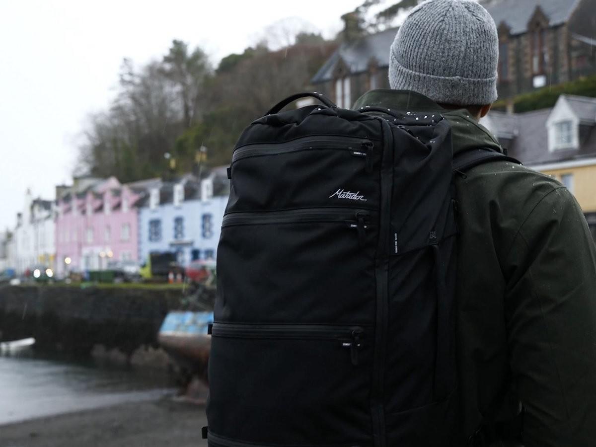 Matador SEG42 Travel Pack Organized Backpack has a large volume designed for travelers