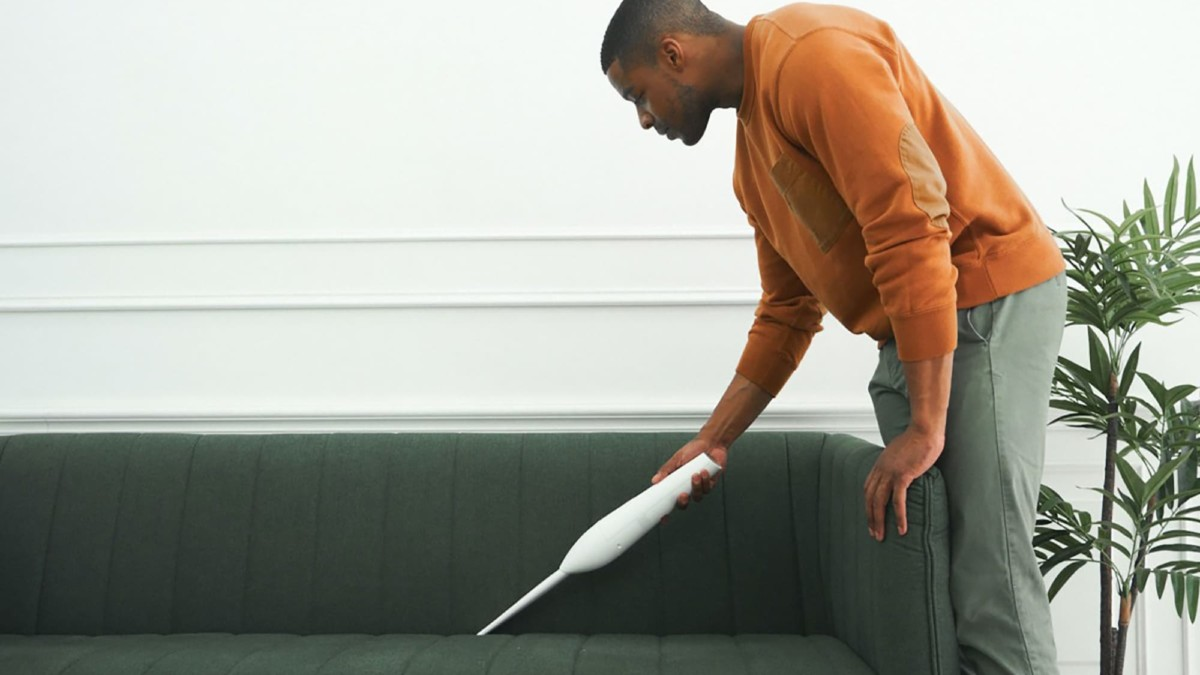 This cordless vacuum cleaner is a powerful way to clean up spills