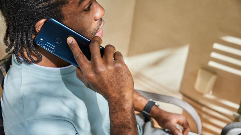 Motorola One Fusion+ High-Res Smartphone gives you a 64-megapixel quad-camera setup