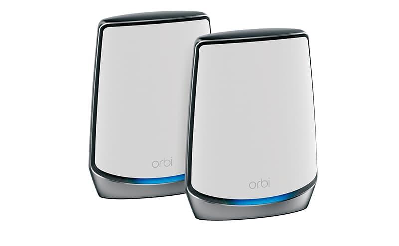 NETGEAR Orbi AX6000 Tri band Mesh Wi-Fi 6 System