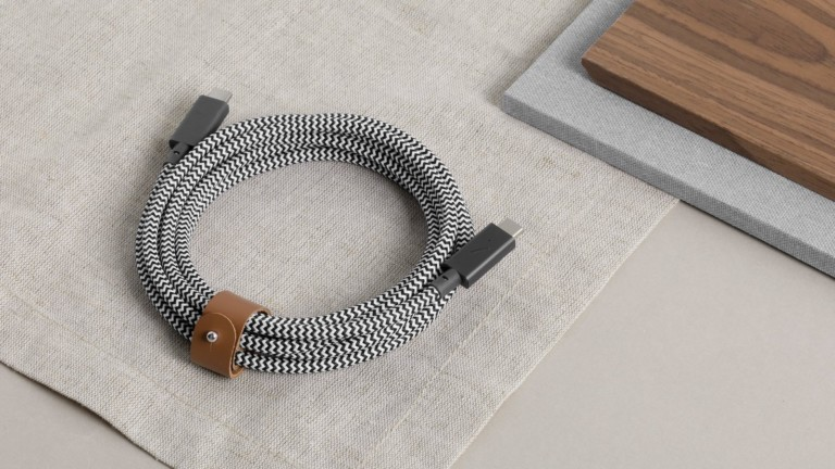 Native Union Belt Cable Pro laptop charger supports up to 100W for faster charging