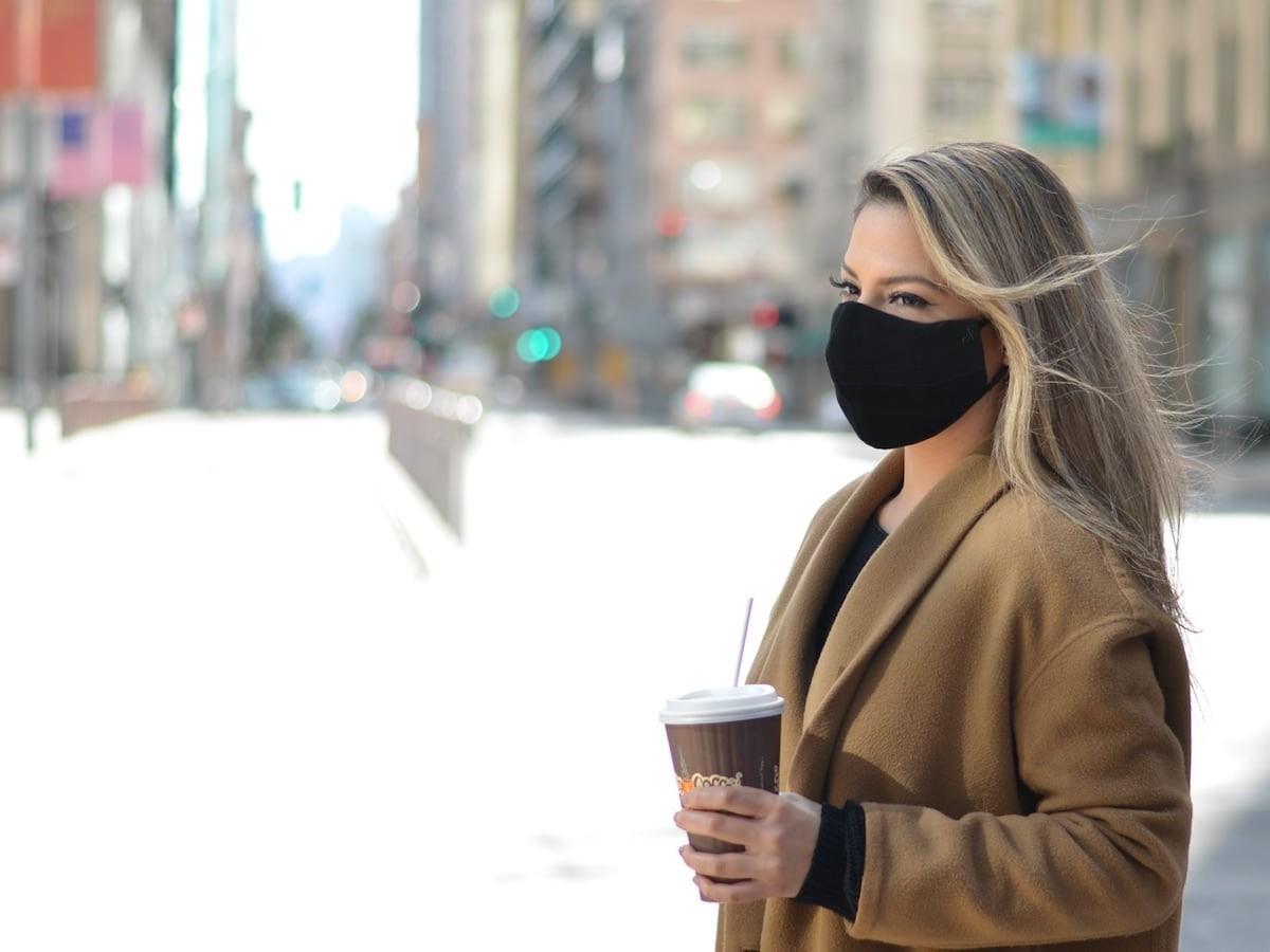 O2 Nano Mask Reusable Nanofiltration Mask blocks 99% of PM2.5 particles