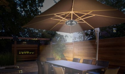 OYOCO Umbrella Light Hanging Outdoor Lamp