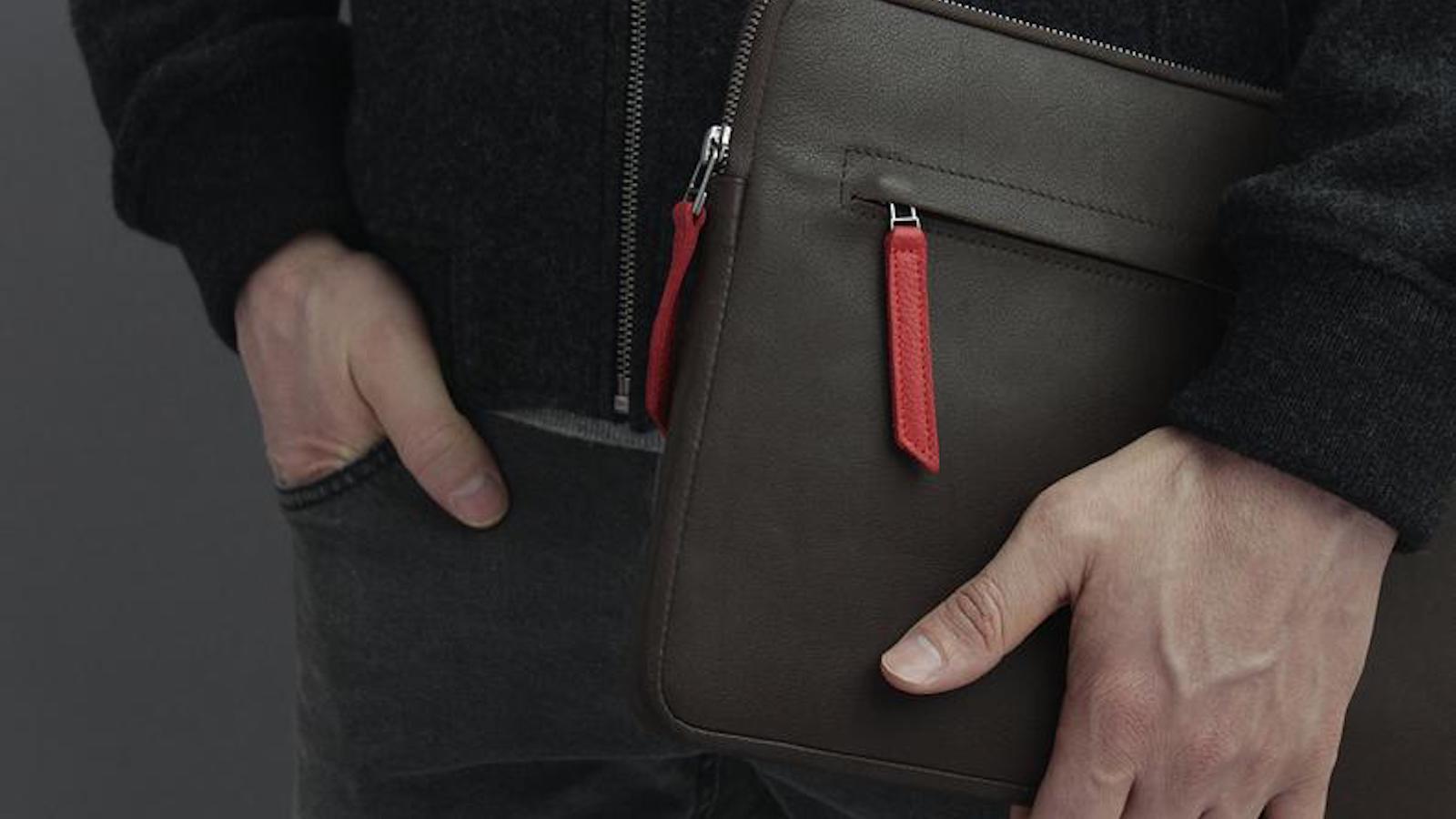 Pack & Smooch Smart Keyboard Folio Case iPad Pro Leather Sleeve